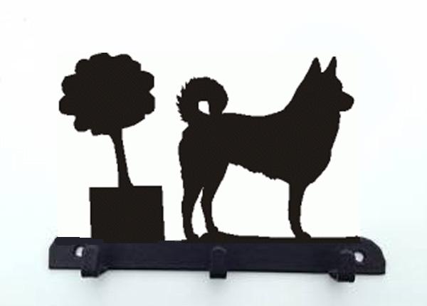 Canaan Hond Riemhangersleutelrek 3 Haken Van Metaal Canaan Hond